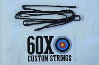 56 12 Strand Brown Dacron B50 Longbow Bowstrings By 60x Custom Strings Bow