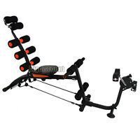 Ab Sit Up Bench Bike Six Pack Car Bicycle Abdominal Training Gym Rocket Twister