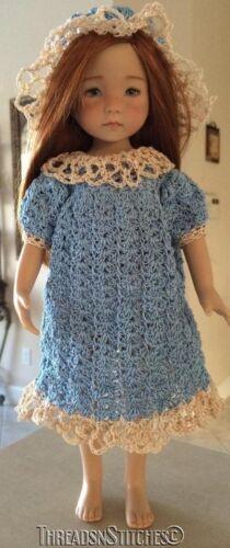 """Digital PDF Download  #146 Crochet  Pattern for Effner Little Darling 13/"""""""