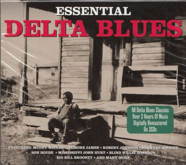 2CD Essential Delta Blues | Neuware Elmore James Muddy Waters John Lee Hooker