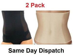 27f35f9c1ff06 Image is loading 2-Pack-Invisible-Tummy-Trimmer-Stomach-Control-Slimming-