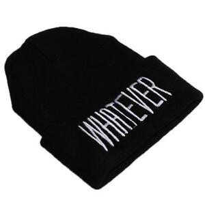Fashion-Unisex-Winter-Warm-Beanie-Hip-Hop-Wool-Knit-Ski-Hat-Cap-YD