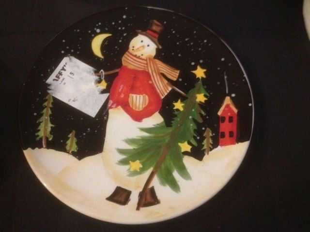 xmas plates collection on eBay!
