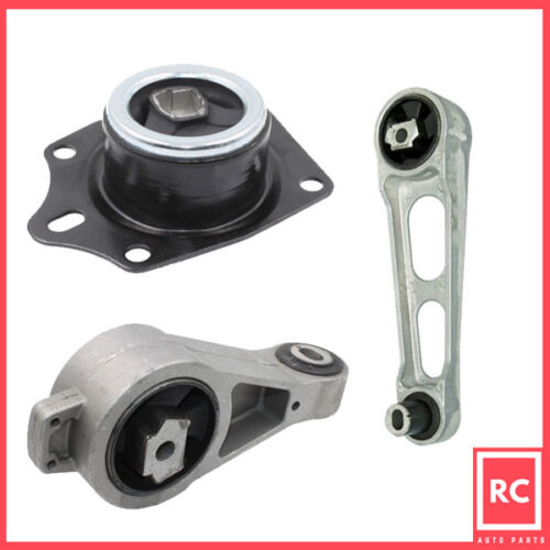 Engine Motor Mount 3PCS Set for 2003-2005 Dodge Neon 2.4L with Turbocharged