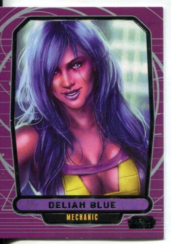 Star Wars Galactic Files Series 1 Base Card #228 Deliah Blue