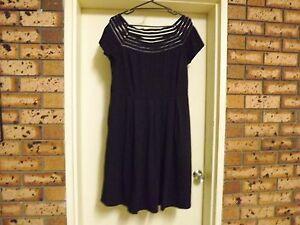 Brand-New-With-Tags-City-Chic-Shadow-Stripe-Dress-sz-S