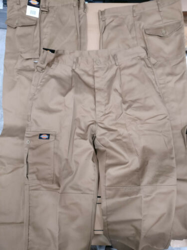 Dickies WD884 Redhawk Super Work Trouser Khaki 32S PACK OF 3