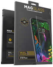 Transparent AulnerablesersYHM 25 PCS 9H 3D Transparent Full Screen Tempered Glass Film for LG G8 ThinQ