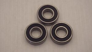 RBI R8RS 1/2 x 1-1/8 x 5/16 SINGLE ROW BALL BEARING (LOT OF 3) NNB