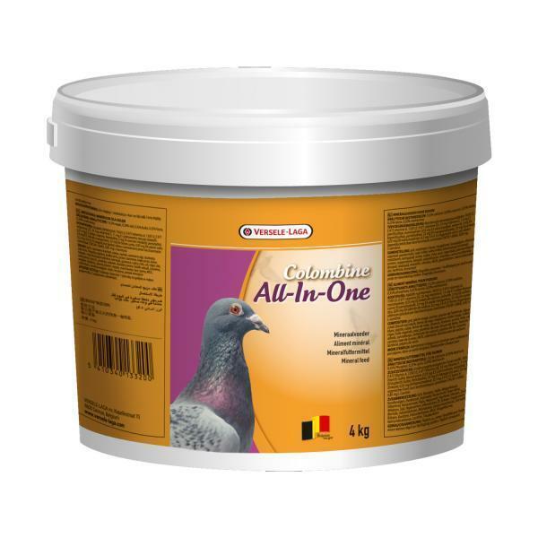 10kg Mineralfutter / Grit für Tauben -Columbine All-In-One- Versele Laga