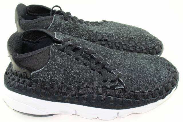 NIKE AIR FOOTSCAPE WOVEN WOVEN WOVEN CHUKKA QUICK STRIKE MEN Größe 11.0 NEW RARE ANTHRACITE da63e4