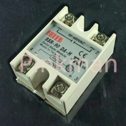 1 pc FOTEK 90DA-H Solid State Relay SSR Single Phase DC-AC