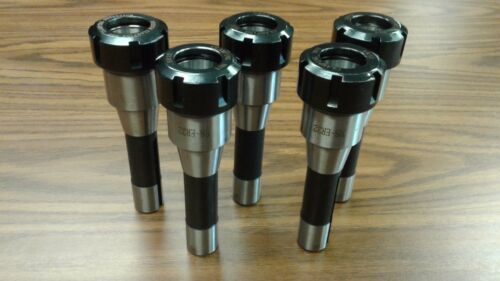 "ER32 COLLET CHUCKS R8 SHANK Arbor 7//16/""-20 draw bar 5pcs #ER32-CK-R8 Tool Holder"