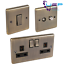 Antique-Brass-Sockets-and-Switches-Windsor-Full-Range thumbnail 1