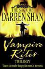 Vampire Rites Trilogy 3 in 1 by Darren Shan (Paperback, 2004)