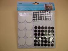 Felt and rubber pads gliders protectors huge assortment 125 furniture, ornaments
