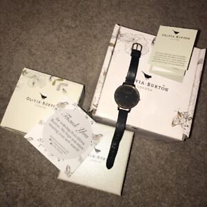 Olivia Burton Rose Gold And Black Big Dial Watch Hardly Worn From Topshop - Blackburn, Lancashire, United Kingdom - Olivia Burton Rose Gold And Black Big Dial Watch Hardly Worn From Topshop - Blackburn, Lancashire, United Kingdom