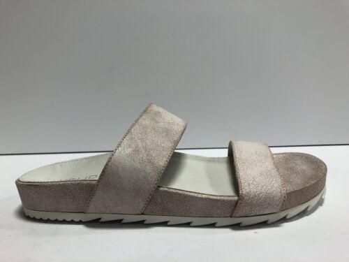 Details about  /J Slides Edie Womens Slide Sandal Pink Suede M 7.5