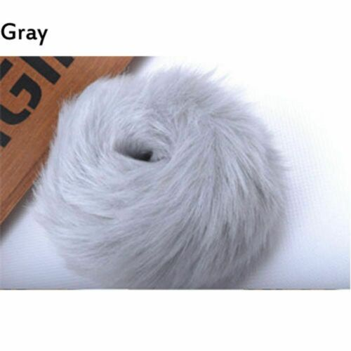 New Women Fake Fur Elastic Hair Rope Ponytail Scrunchie Plush