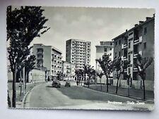 PORDENONE Viale Dante benzina MOBIL fiat 500 vecchia cartolina