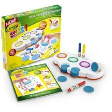 Crayola Color Wonder Mess Light Up Stamper 12pg Pad 3 Markers 10 Stamps