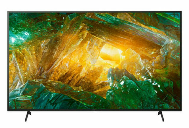Sony X800H 55 4K ULTRA HD LED HDR ANDROID SMART TV, XBR-55X800H, 2020 Model