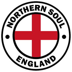 Northern-Soul-ENGLAND-colore-CAR-Adesivo-per-finestre-1-OMAGGIO