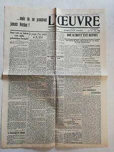 N960-La-Une-Du-Journal-L-039-uvre-25-octobre-1916-Douaumont-est-repris