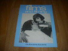 FILMS & FILMING Movie Magazine -  CHI DICE DONNA DICE DONNA cover Dec 76