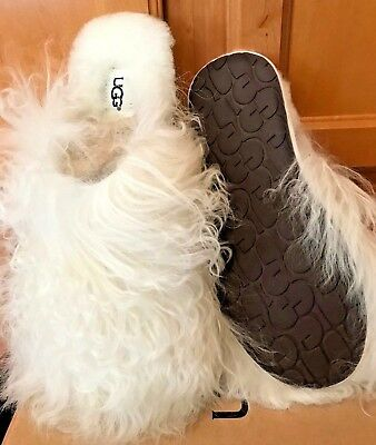 UGG AUSTRALIA Fluff Momma Mongolian Clog | Mules Clogs
