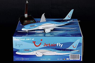 Jetairfly Boeing 787-8 Dreamliner OO-JDL JC Wings 1:200 Diecast Models XX2867