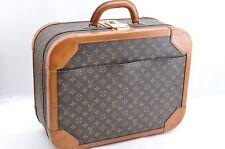 Authentic Louis Vuitton Monogram Stratos 50 Vintage Trunk Travel Case LV 33240