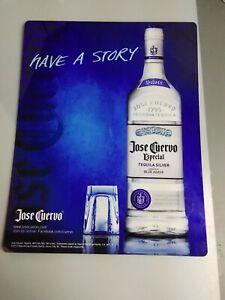 Jose Cuervo Sign 23x18 menu/special 2013
