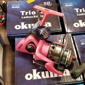 Okuma  Trio 30 Ladies Edition Spinning Reel TRIO-LE30  online sale