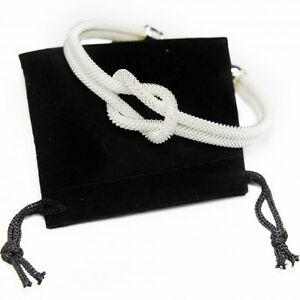Bracelet-Jonc-Noeud-Argent-pour-femme-fashion