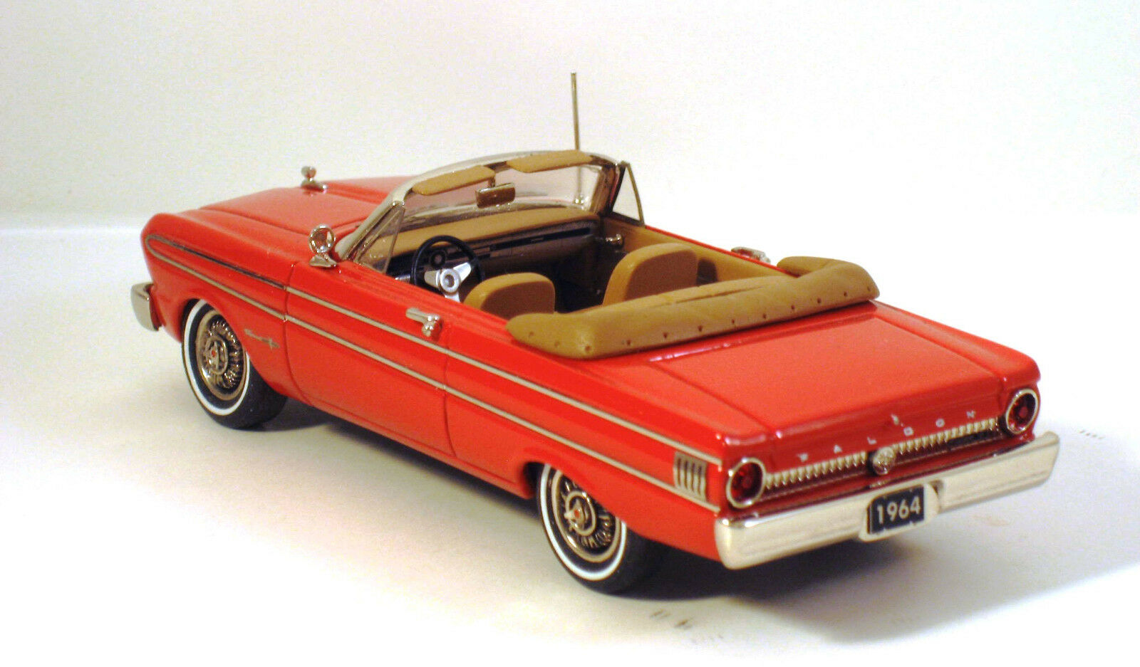 HIGHWAY TRAVELERS 1964 FORD FALCON FUTURA CONV.  RED HWT 113
