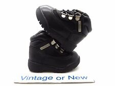 Boys Timberland Field Black Leather Boots Toddler sz 4