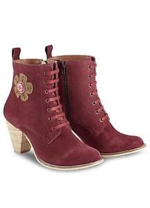 Quirky Uk Joe pelle Browns Taglia Boots in Ladies 8 scamosciata qPOwEfOz