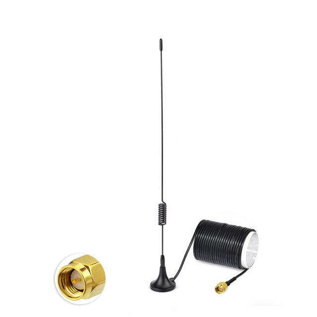 5dBi DVB-T2 ATSC ISDB F Type Magnetic Base Antenna for Digital TV HDTV Tuner