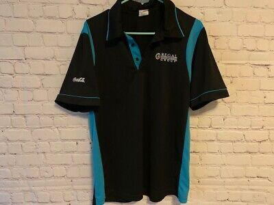 Regal Entertainment Group Cinema Movie Theater Employee Usher Polo Shirt Medium Ebay