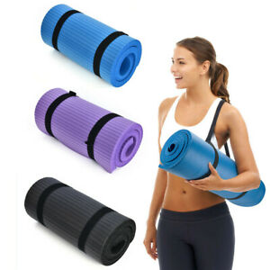 15mm-Thick-Yoga-Mat-Exercise-Fitness-Pilates-Camping-Gym-Meditation-Pad-Non-Slip