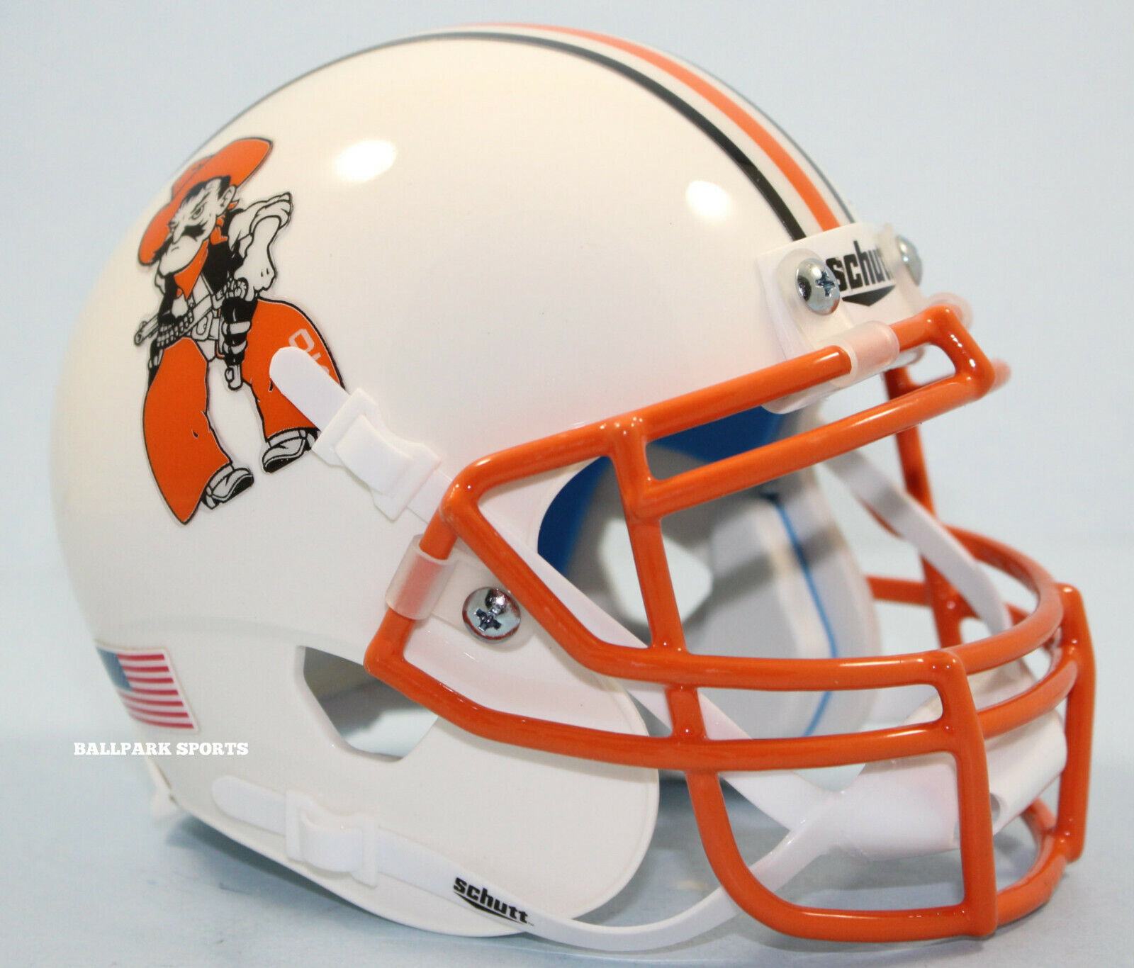 NCAA Okalahoma State Cowboys Mini Authentic XP Football Helmet Bucking Cowboy Alt Mini 11