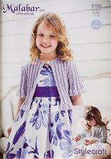 83f154b58bee Stylecraft 9167 Knitting Pattern Girls Occasions Cardigans in ...