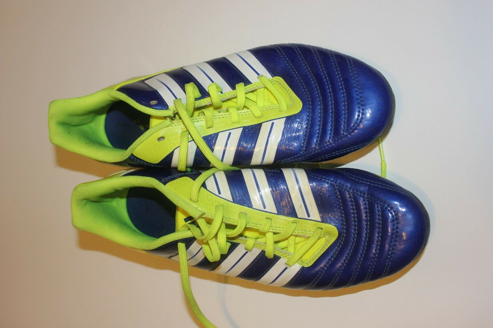 huge selection of ac07b b6742 Adidas Predator David Soccer Cleats Vivid Blue Blue Blue and Yellow, used 1  time,