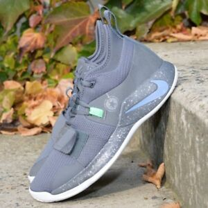 f984d2b3a34e Details about Nike PG 2.5 Fighter Jet BQ8452-007 Grey Green Paul George  Mens Basketball Shoes
