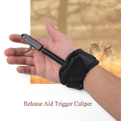 Hand Bow Release Compound Bow Release Caliper Shooting Trigger Wrist Strap Tool