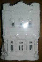California Creations - Craft Store Se190 Holiday Christmas Village Unpainted