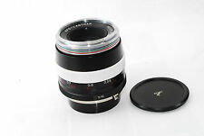 "Voigtlander APO Lanthar Silver 90mm f/3.5 SL for Contax ""Very Good"" #0893"