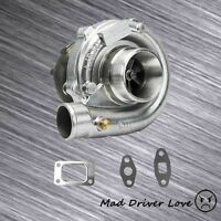 Mid-high Rpm Boost Racing Turbo T3/t4 Charger .63a/r For Nissan Mazda Subaru
