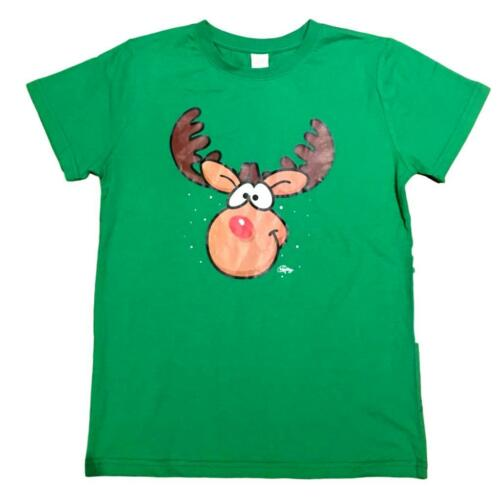 New Kids Boys Girls Christmas Xmas T Shirt Tee 100/% Cotton Top